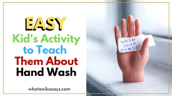 Handwashing for kids