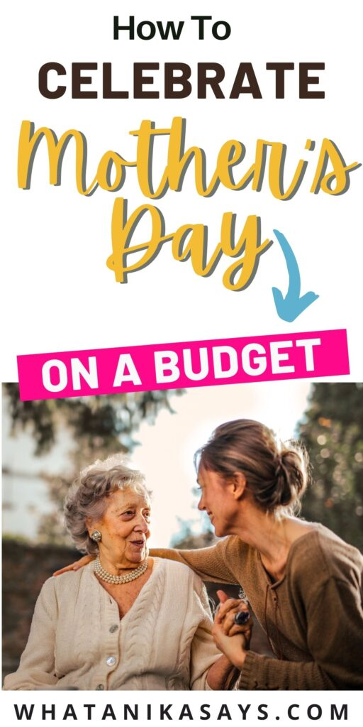 cheap mother's day ideas