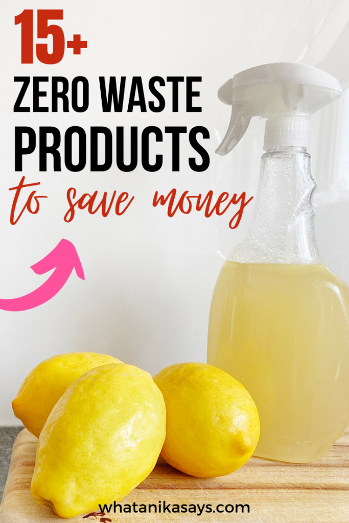 15+ Zero Waste Products to Save Money