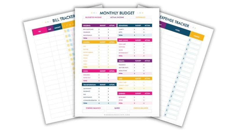 Free Budget Template from Mom Makes Cent