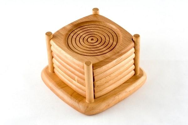 woodwork coasters